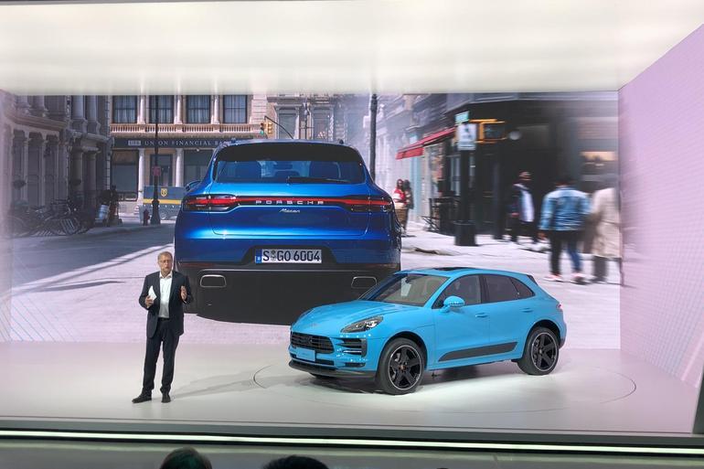 保时捷新款Macan全球首发 换装2.9T及3.0T发动机