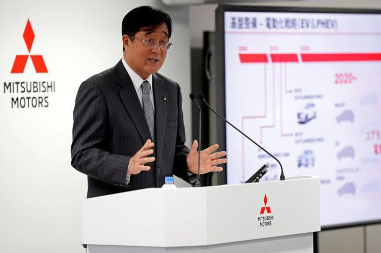 益?#26377;?#23558;辞任三菱汽车CEO