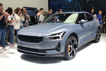亚洲CES:Model 3的劲敌! Polestar2的车机系统竞争力爆表