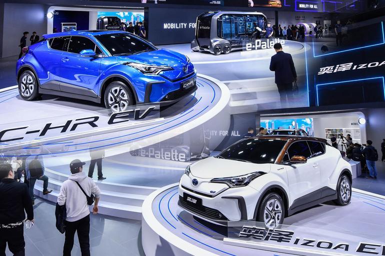 20年厚積一朝薄發 上海車展豐田電動化產品解讀