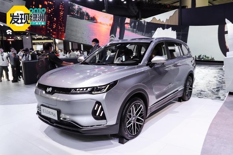 2019广州车展:续航500km/35min充80% 威马EX6 Plus解析