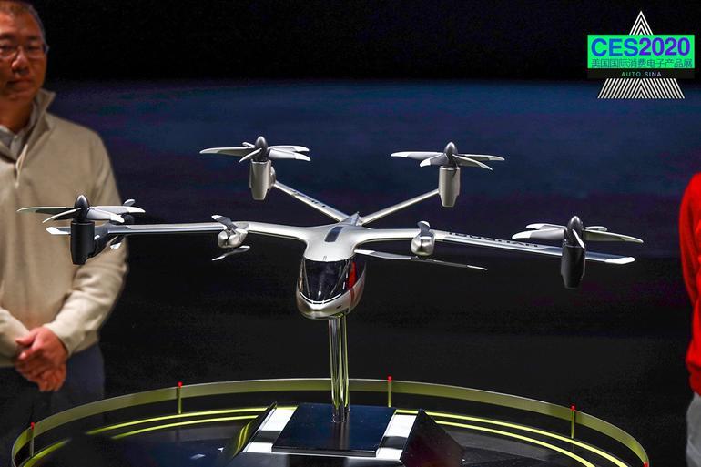 2020CES:用飞行代步 现代汽车畅想未来城市交通