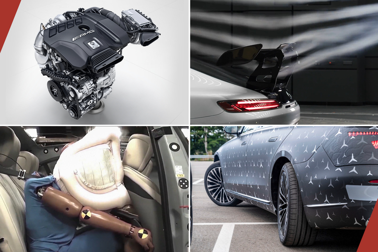 从F1黑科技到最强2.0T 奔驰要变豪横科技博主