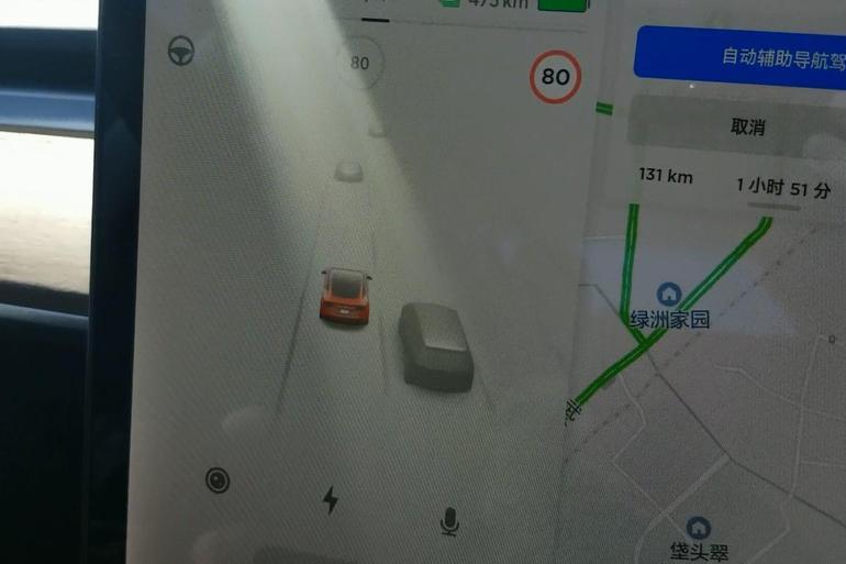 Model 3可视化驾驶