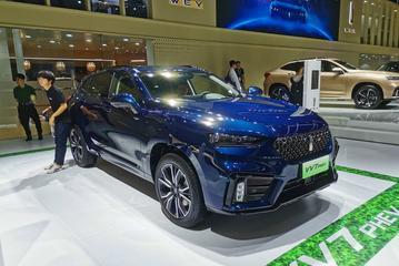 VV7 PHEV/VV7 GT PHEV广州车展上市 搭载2.0T混合动力