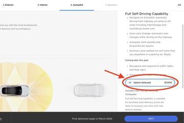 特斯拉全自动驾驶软件包将再次提价