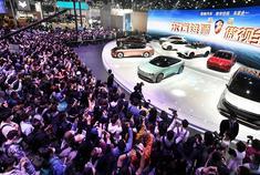 9款车型齐聚上海车展 硬核解密恒驰1恒驰5