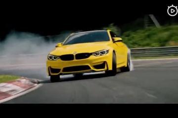 视频: 宝马BMW 新款M4狂飙纽北赛道