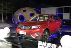 2018年3月15日,吉利新款博越正式上市,新车针对外观以及内饰细节进行调整,搭载2.0L自然吸气发动机以及高低功率的1.8T发动机,新车共推出9款车型。