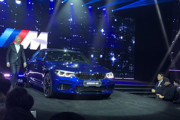 售价164.8万 宝马全新一代M5正式上市