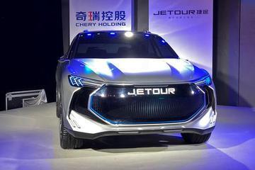 捷途全新概念车JETOUR X全球首发亮相