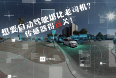 视频:想要自动驾驶堪比老司机? 传感器得过关!