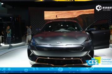 亚洲CES:起亚拿出了能人脸识别的纯电SUV
