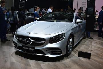 售价124.38万 新款奔驰S级轿跑车上市