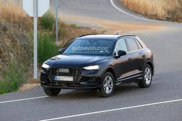新一代奥迪Q3低伪谍照 预计巴黎车展首发