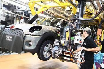 若英国未达成协议便脱欧 英国汽车工厂或将面临停产风险