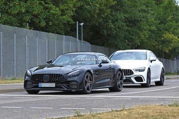 新款AMG GT谍照曝光 或2020年上市