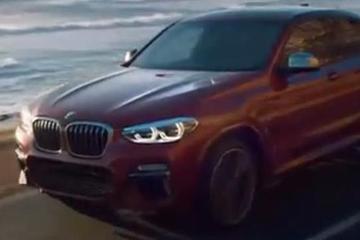 全新宝马X4官方宣传片 新车将于8月31日上市