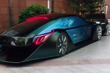 劳斯莱斯梦幻概念车实车:Exterion