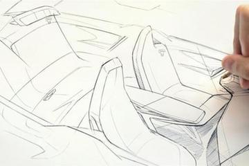 宝马发布iNext电动车设计草图 或2021年量产