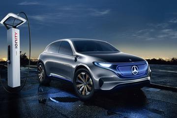 奔驰将发布纯电动SUV EQC 开启德系车对特斯拉的阻击