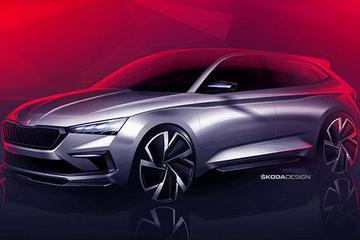 斯柯达Vision RS假想图曝光 巴黎车展发布