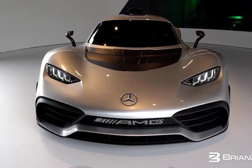Mercedes-Benz AMG Project One 合法上路的F1