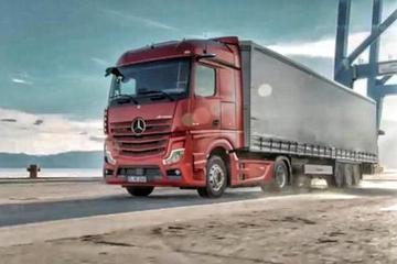 让卡车变得更炫酷 奔驰推新款Actros卡车