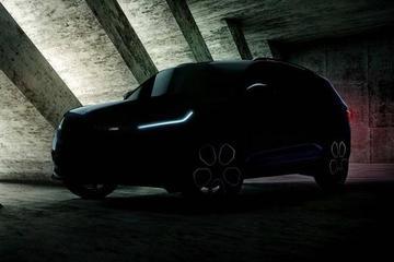 柯迪亚克RS预告图曝光 10月亮相巴黎车展