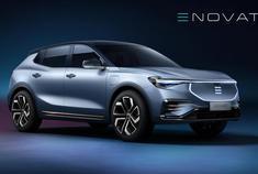 """电咖汽车旗下高端品牌ENOVATE首款车型官图正式发布,新车定位中大型SUV,采用""""先锋重构美学""""设计语言。"""