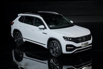 实拍一汽-大众全新SUV 探岳 10月22日上市