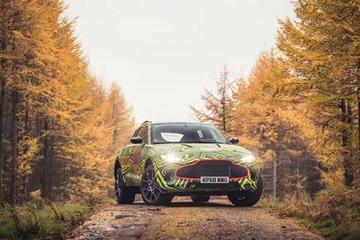 阿斯顿·马丁首款SUV定名DBX 或明年开启量产