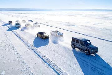 星辉家族 畅舞冰原 奔驰A到G冰雪体验