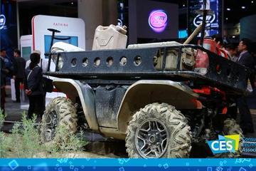 2019 CES:本田的四轮机器人 山路也玩自动驾驶