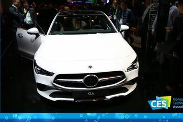 2019 CES: 奔驰全球首发新CLA 车机对标大哥S级