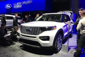 2019北美车展 全新福特探险者/探险者ST
