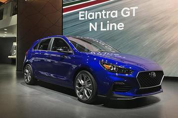 2019北美车展 现代伊兰特GT N-line正式亮相
