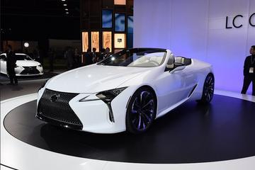 2019北美车展 雷克萨斯LC敞篷版概念车正式发布