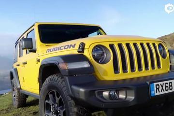 2019款Jeep牧马人Wrangler Rubicon 牧马人的顶级车型