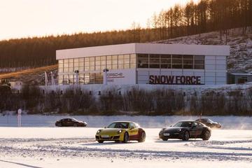 驾驶技术得到升华 保时捷凌驾冰雪体验
