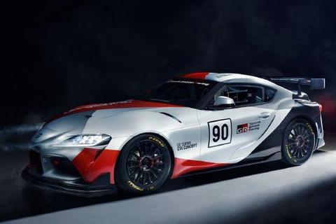 日内瓦车展:丰田GR Supra GT4概念赛车发布
