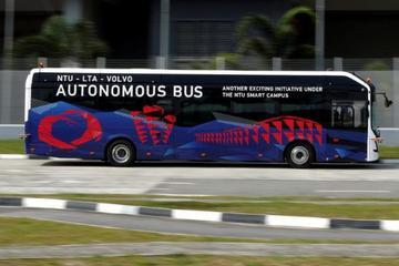 沃尔沃推全球首款全尺寸自动驾驶电动巴士