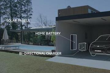 三菱日内瓦车展推DDH系统 让家庭与电动汽车共享电力