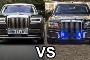 2019劳斯莱斯幻影 vs 2019俄罗斯豪车Aurus Senat
