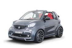 绝非善茬的电动smart 2019款Brabus Ultimate E Shadow Edition