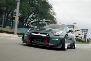 战神上身Rocket Bunny 改装版Nissan GT-R R35