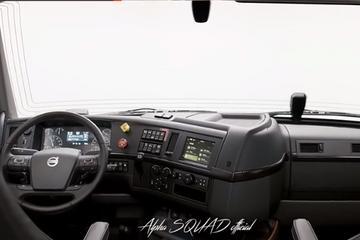 2019沃尔沃VNL豪华重卡 开卡车也可以这么享受!