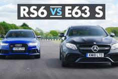 谁才是西装暴徒? 奥迪RS6 vs奔驰AMG E63 S
