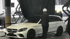 2019上海车展探馆:梅赛德斯-AMG C43旅行