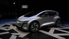 奥迪AI:me概念车全球首发